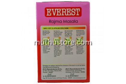 EVEREST RAJMA MASALA 100g