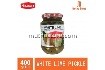 NIRAPARA WHITE LIME PICKLE  400g