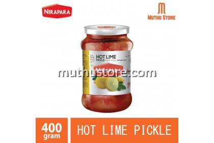 NIRAPARA HOT LIME PICKLE 400g