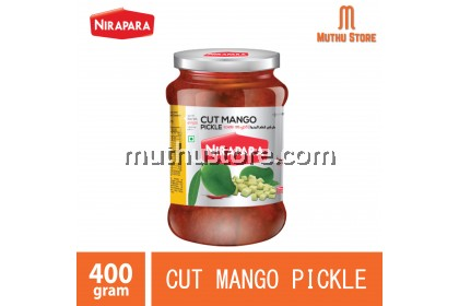 NIRAPARA CUT MANGO PICKLE 400g