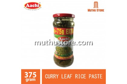 AACHI CURRY LEAF RICE PASTE 375G